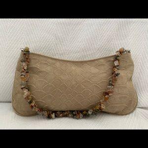 Small Zip Convertible Handbag